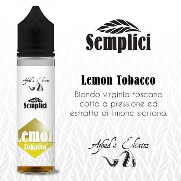 Azhad' s Semplici LEMON TOBACCO aroma concentrato 20ML