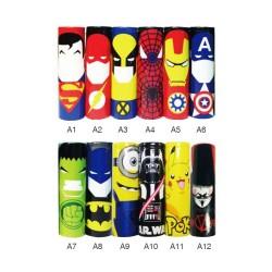 WRAPS 18650 Super Heros