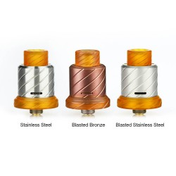 BOOMSTICK ENGINEERING - REAPER 18MM MTL RDA
