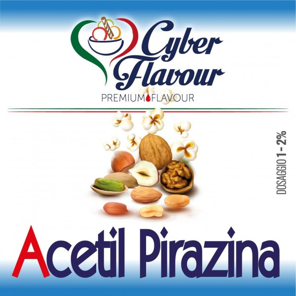 Additivi CYBER FLAVOUR Acetil Pirazina 10ML