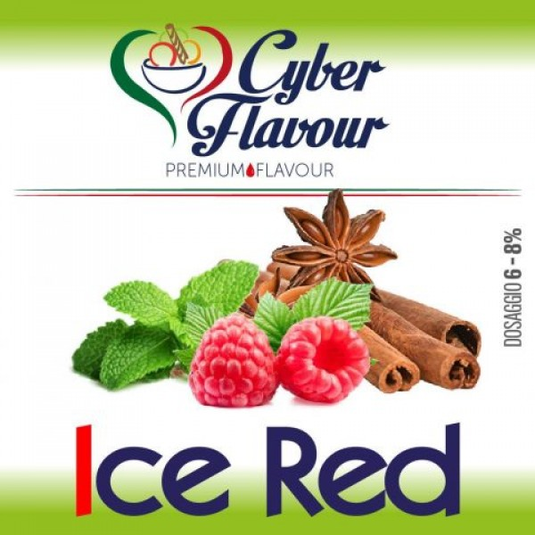 Aroma CYBER FLAVOUR Ice Red 10 ML
