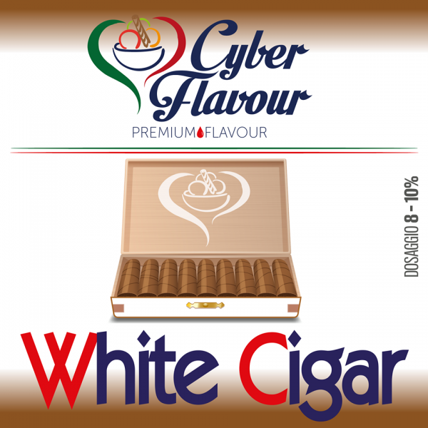 Aroma CYBER FLAVOUR White Cigar 10ML